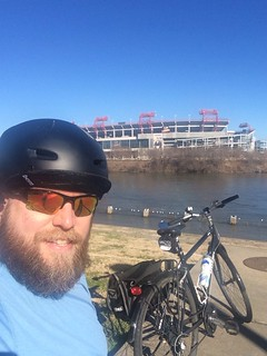 Biking around Nashville - 1/1/2014