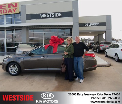 Happy Birthday to John T Carey from Suliveras Wilfredo and everyone at Westside Kia! #BDay by Westside KIA