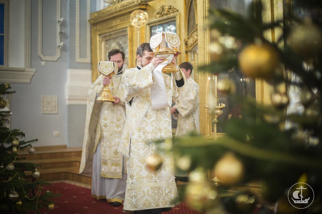 8 января 2014, Богослужение в день праздника Собора Пресвятой Богородицы