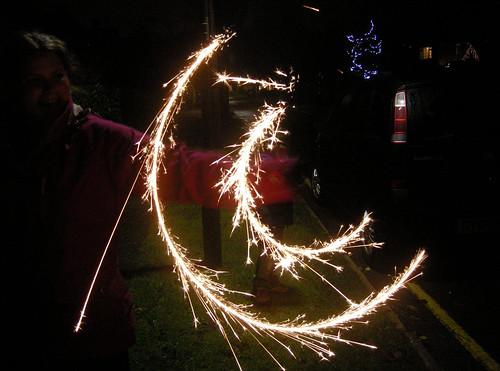 26 12 2013 (360) Sparkler double swirl