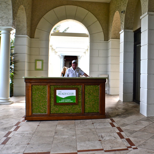 The Breakers Hotel, Palm Beach, Florida - The Beach Club - entrance