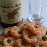 Käse-Oliven-Taler