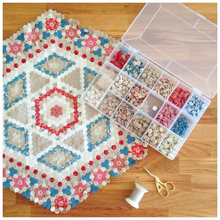 Wedding Medallion Miniature Quilt