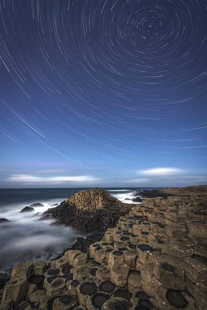 Giants Star Trail
