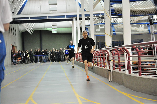 Les finishing ahead of Neil