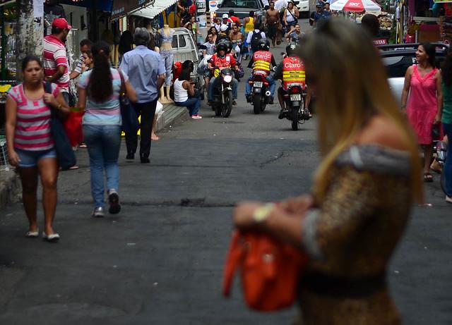 Situaciones de la favela Rocinha