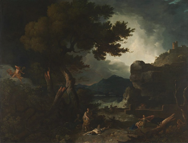Richard Wilson - The Destruction of Niobe's Children (c.1760)
