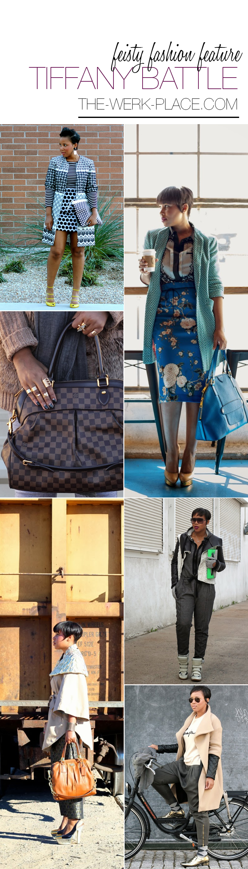 black fashion blogger feature Tiffany Battle of The WERK! Place