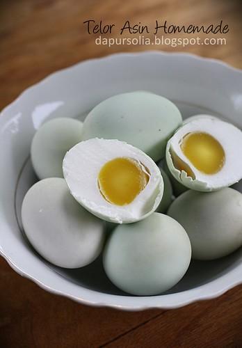 Telur Asin Homemade