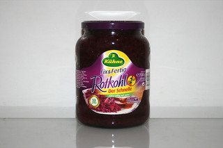 18 - Zutat Rotkohl / Ingredient red cabbage