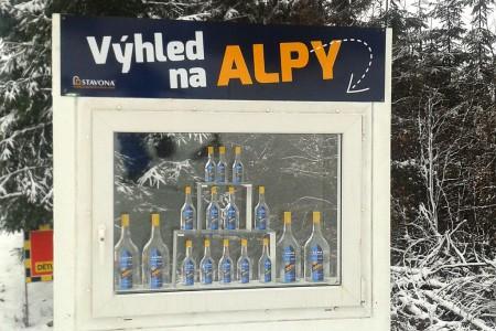 Skipark Červená Voda: středisko alpského stylu s výhledem na Alpy!