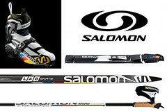 Salomon S-Lab skate set