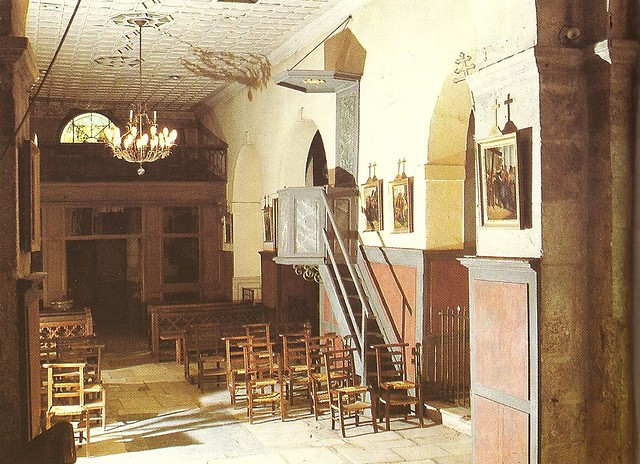 interior of old church