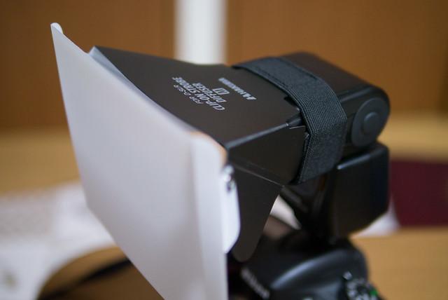 ハクバのクリップオンストロボディフューザーはコスパ高くてオススメ