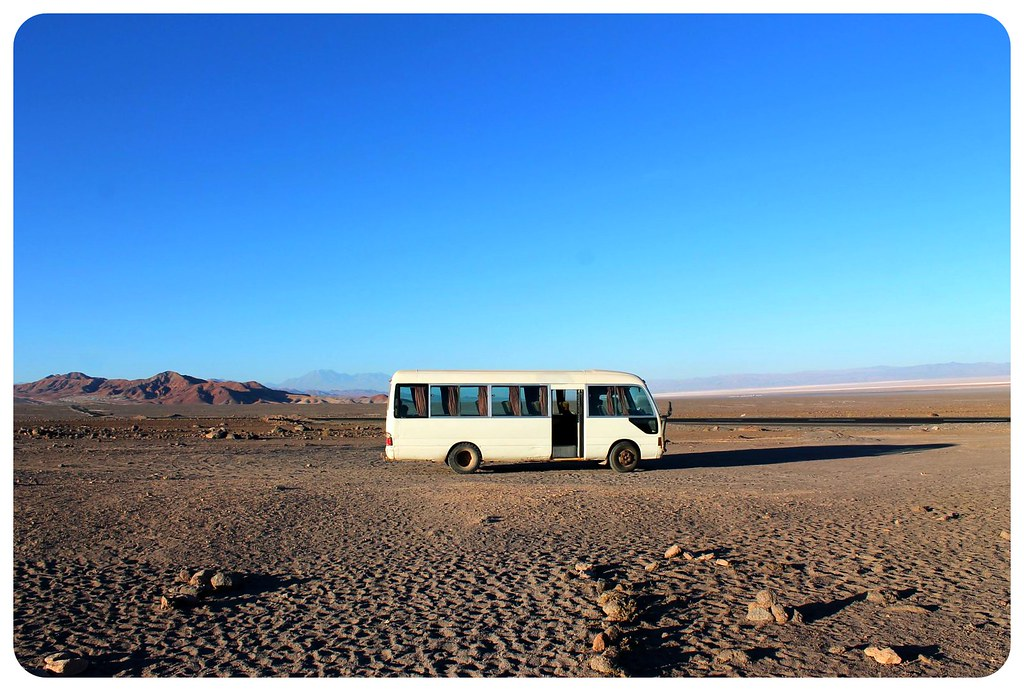atacama desert chile bus