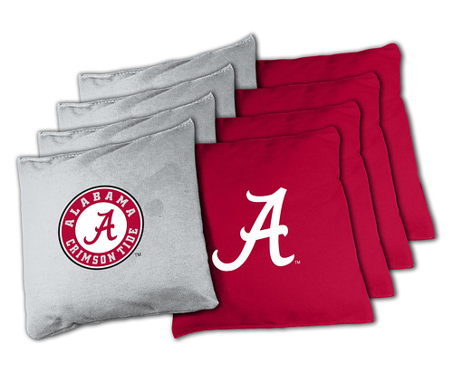 Alabama Crimson Tide Cornhole Bags