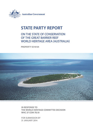 State Party Report on the state of conservation of the Great Barrier Reef World Heritage Area (Australia) - 2014