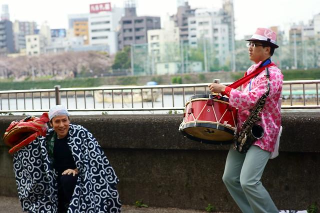 向島春の行楽, Mukohjima Tokyo, Mar 2014. 023