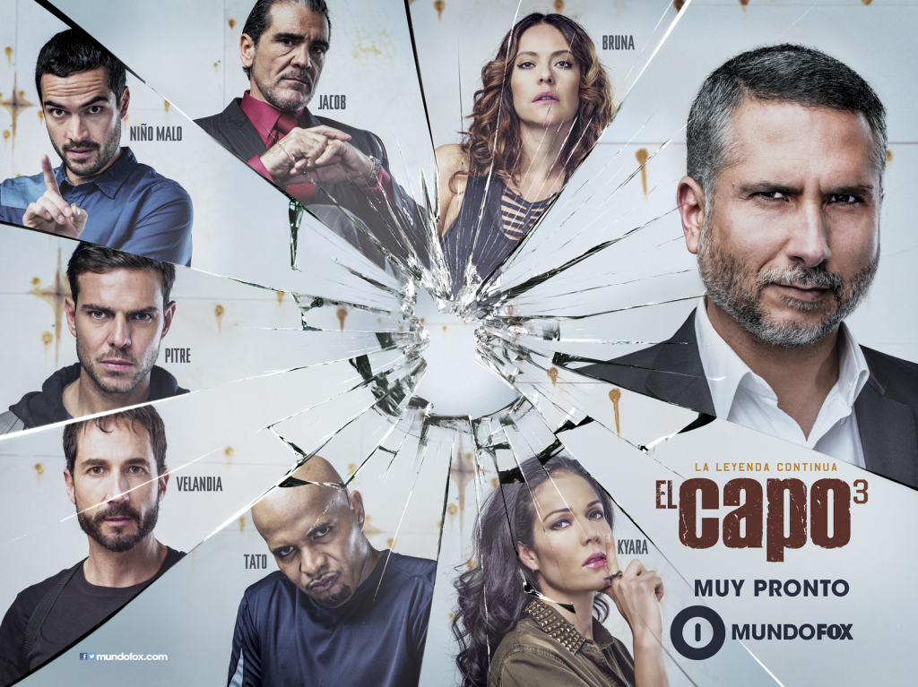 El Capo 3 tercera temporada HD 720p 57 Capitulos
