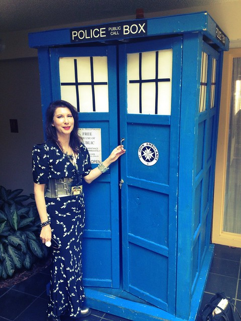 Stepping into the Tardis