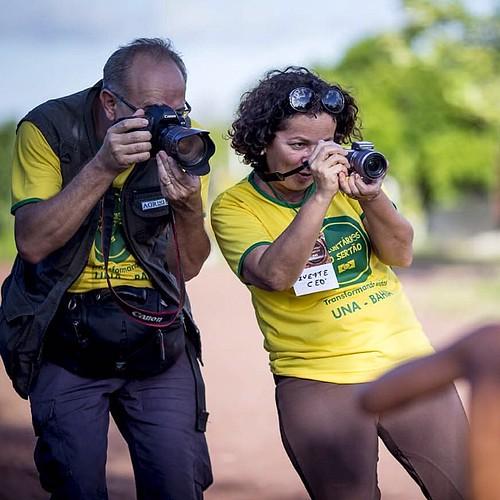 #Commeuamor juntos na 14a edição dos #voluntariosdosertao em #una #bahia #companheira #fotograforibeiraopreto #sertão #intrabartolo  foto do Roosevelt Cássio