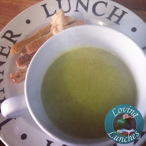 Loving today's #soupsimple lunch… any guesses? Thank you @kambrookau