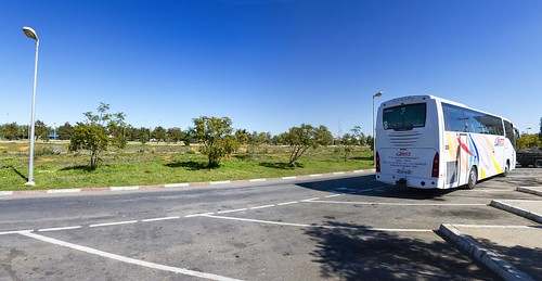 africa road trees panorama bus bluesky panoramic morocco 2014