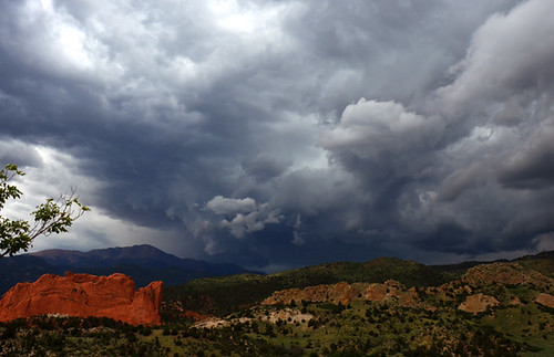foothills storm mountains clouds gardenofthegods coloradosprings thunderstorm