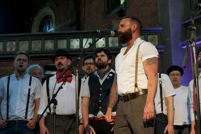 Chaps Choir at Daylight Music 7th June 2014