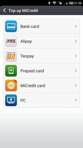 เลือกเติม MiCredit ได้หลากหลายช่องทางมากมาย