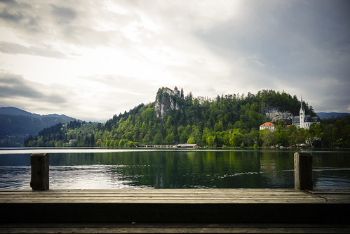 travel lake castle water landscape spring europe day jetty sony slovenia bled radovljica sonya7
