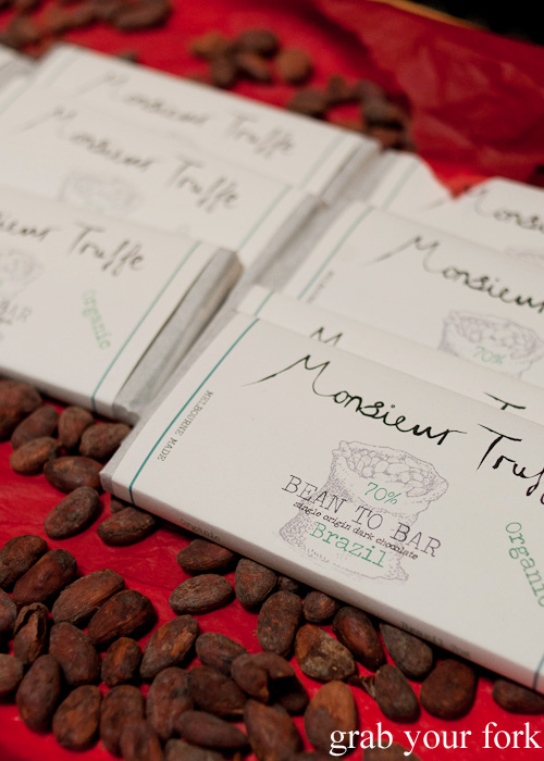 Bean to Bar single origin chocolate bars at Monsieur Truffe, Collingwood, Melbourne