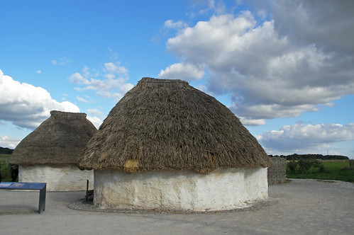 Neolithic Houses Creative Commons License
