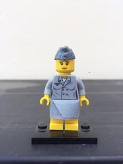 Lego WW2 Helferin, by Yazyas.