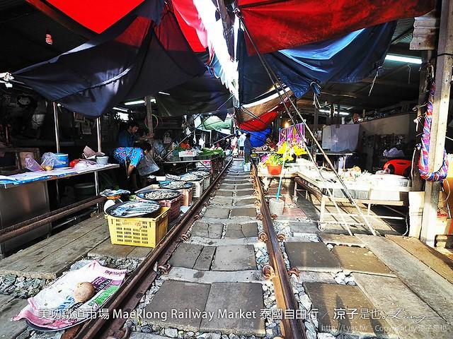 美功鐵道市場 Maeklong Railway Market 泰國自由行 46