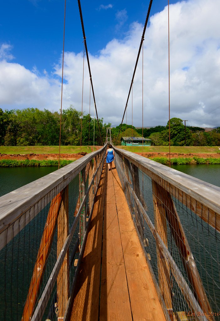 Bridge To Heaven Swinging Bridge In Hanapepe Kauai Flickr
