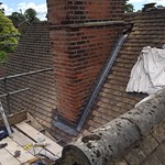 New Lead Flashings in progress, Oxted