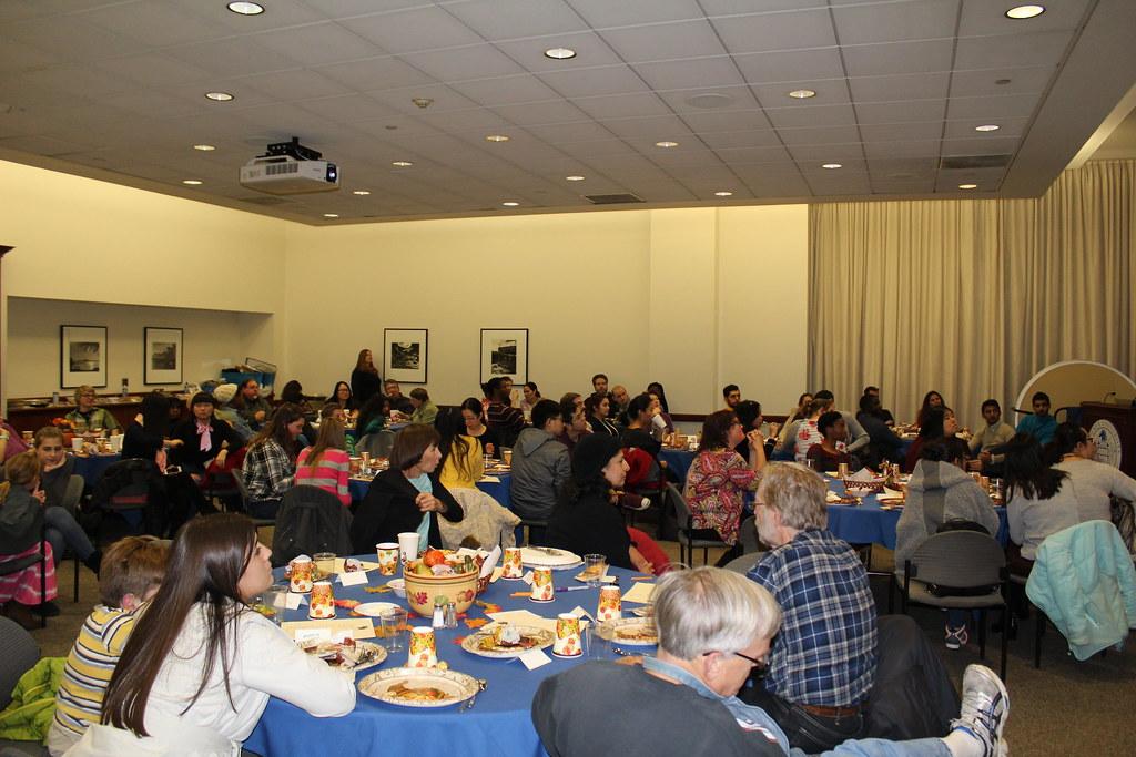 International Students Thanksgiving Dinner - 11.20.16