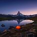 Good Night Matterhorn by Achim Thomae