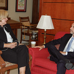 Claire Meets with Acting Administrator of the United States General Services Administration Dan Tangherlini