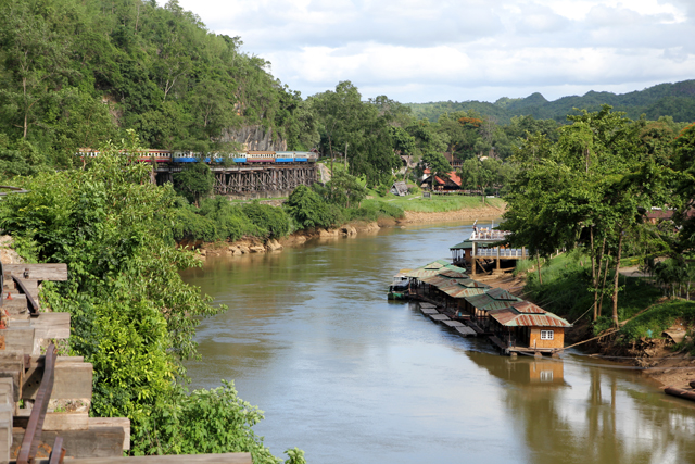 Tham Kra Sae on the River Kwai in Kanchanaburi, Thailand