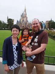 Dave, Alan, and Lisa at Tokyo Disneyland!