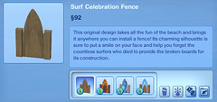 Surf Celebration Fence