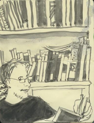 k reading by Bricoleur's Daughter