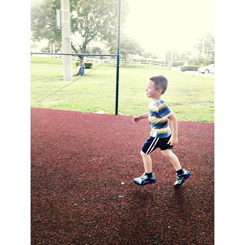 Z playing tag at the park.  #pictapgo_app #kids