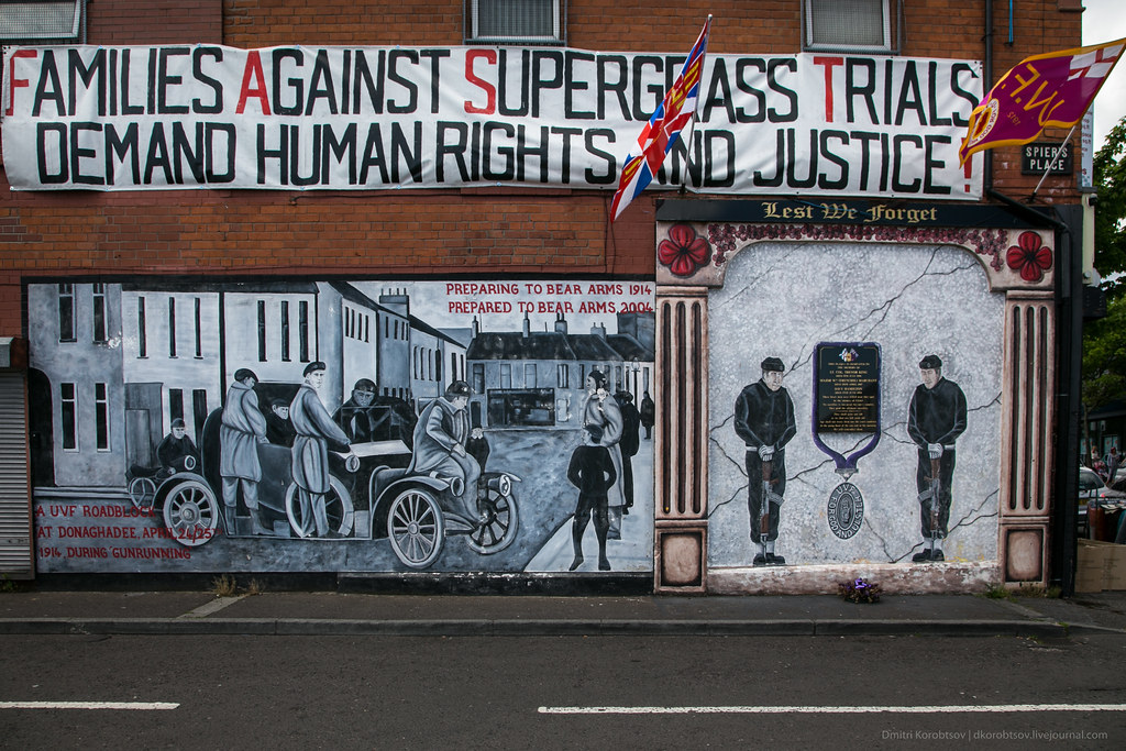 Families against Supergrass Trials Demand Human Rights and Justice!