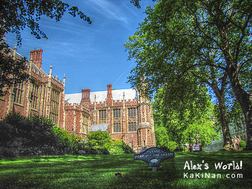 Lincoln's Inn in HDR