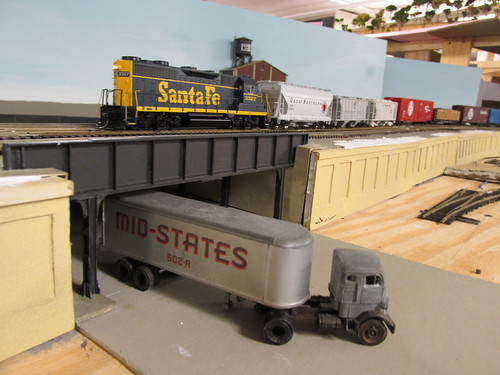 A 1960's era Santa Fe local way freight. by Eddie from Chicago