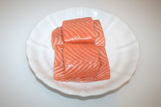 04 - Zutat Lachsfilet / Ingredient salmon filet