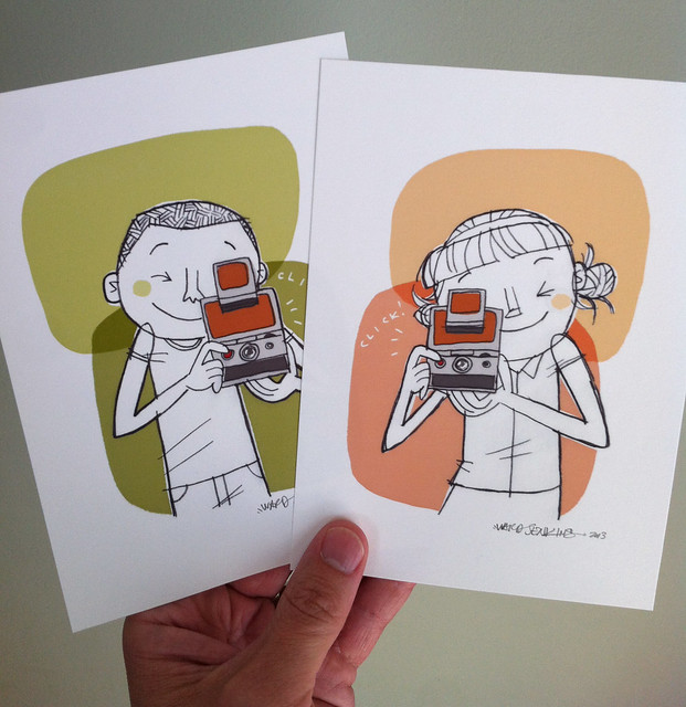 Etsy Update: SX-70 Camera Kids